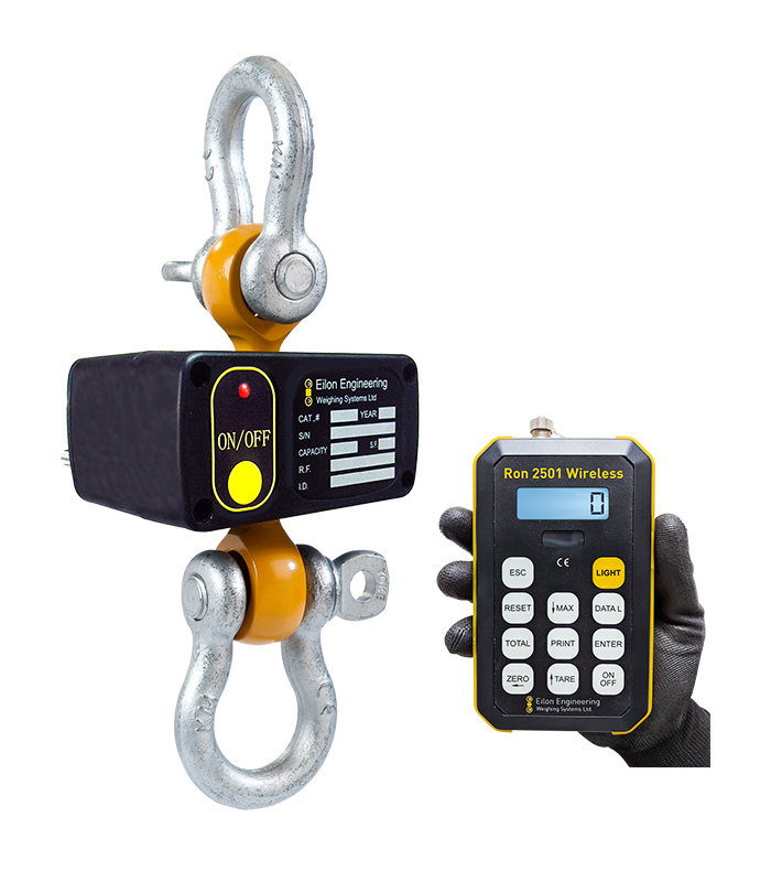Wireless Shackle Type Dynamometer