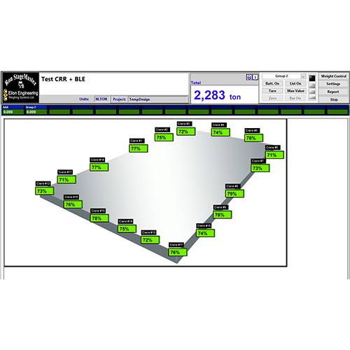 Screenshot of Ron StageMaster software